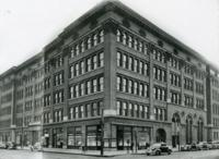 Street view of Lewis Institute, Chicago, Illinois