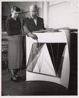 Buckminster Fuller and Evelyn McCermiak (?)