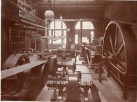 Engine Room, Main Building, Armour Institute of Technology, Chicago, Illinois, ca. 1900