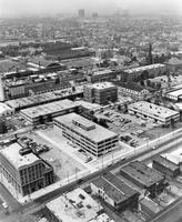 Aerial view of the Illinois Institute of Technology campus, Chicago, Illinois, 1955