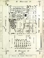 Plat map of Lewis Institute, Chicago, Illinois, ca. 1940