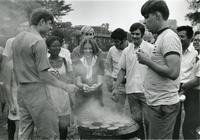 Fraternity Barbecue, Illinois Institute of Technology, Chicago, Illinois, 1981