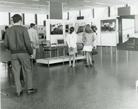 50 Years Bauhaus exhibit, S.R. Crown Hall, Illinois Institute of Technology, Chicago, Illinois, 1969