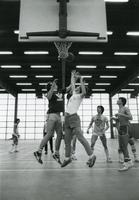 Basketball in Keating Hall, Illinois Institute of Technology, Chicago, Illinois, 1980s