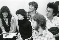 Illinois Institute of Technology students, Chicago, Illinois, 1980s
