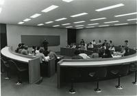 Stuart Building lecture, Illinois Institute of Technology, Chicago, Illinois, 1980s