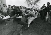 Fraternity Tug of War, Illinois Institute of Technology, Chicago, IL, 1970s