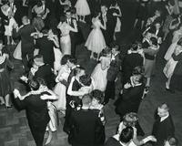 Student dance, Chicago, Illinois, ca. 1960