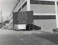 Armour Research Foundation Chemistry Research Building during construction, Illinois Institute of Technology, Chicago, Illinois, ca. 1960