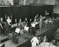 Orchestra performance at  American Power Conferences All Engineers Dinner, Chicago, Illinois, 1952