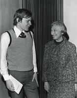 Winner of the Mollie Cohen Prize with Mollie Cohen, Illinois Institute of Technology, Chicago, Illinois, ca. 1980-1985