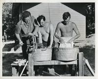Civil Engineering students at Camp Armour, Vilas County, Wisconsin, 1942