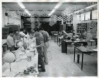 Institute of Design sculpture class, Illinois Institute of Technology, Chicago, Illinois, ca. 1956-1969
