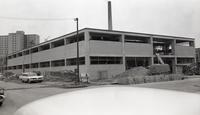 Armour Research Foundation Chemistry Research Building under construction, Illinois Institute of Technology, Chicago, Illinois, 1959-1960