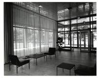 Lobby of Cunningham Hall, Illinois Institute of Technology, ca. 1960s