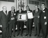 Illinois Institute of Technology Alumni Awards winners and presenters, Chicago, Illinois, 1969