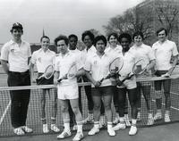 Illinois Institute of Technology men's tennis team, Chicago, Illinois, ca. 1980-1985