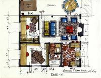 San Bar house - Plan