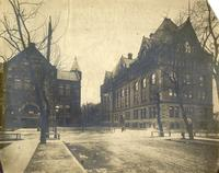 Armour Mission and Main Building, Armour Institute of Technology, Chicago, Illinois, ca. 1900