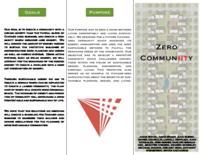 Zero Energy Community (Semester Unknown) IPRO 323: ZeroEnergyCommunityIPRO323Brochure2F09