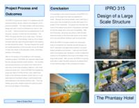 Design of a Large Scale Structure (sequence 315), IPRO 315 - Deliverables: IPRO 315 Brochure F09