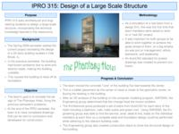 Design of a Large Scale Structure (sequence 315), IPRO 315 - Deliverables: IPRO 315 Poster F09