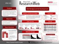 Developing a Collaborative On-line Student Research Forum (sequence unknown), IPRO 321 - Deliverables: IPRO 321 Poster F09
