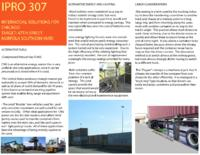 Intermodal Container Transport (Semester Unknown) IPRO 307: Intermodal Container Transport IPRO 307 Brochure2 F08