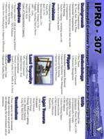 Intermodal Container Transport (Semester Unknown) IPRO 307: Intermodal Container Transport IPRO 307 Poster1 F08