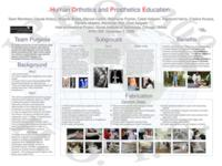 Orthotics and Prosthetics in Latin America (Semester Unknown) IPRO 309: Orthotic and Prosthetic Education for Latin America and the United States IPRO 309 Poster F08