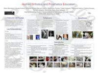 Orthotics and Prosthetics in Latin America (Semester Unknown) IPRO 309: Orthotic and Prosthetic Education for Latin America and the United States IPRO 309 Poster Spanish F08