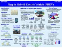 Plug-In Hybrid Electric Vehicles:  Simulation, Design, and Commercialization (semester?), IPRO 356: SP Hybrids IPRO 356 Poster F06