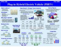 Plug-In Hybrid Electric Vehicles:  Simulation, Design, and Commercialization (semester?), IPRO 356: SP Hybrids IPRO 356 abstract F06