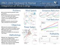 Technical and Market Integration of Wind Energy (semester?), IPRO 344: Wind Farm IPRO 344 Poster F06