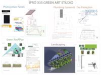 Green Building (Semester Unknown) IPRO 335: GreenArtStudioIPRO335Poster1Sp09