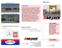 Intermodal Container System Solution (Semester Unknown) IPRO 307: IntermodalContainerSystemSolutionsForTheChicagoAreaIPRO307Brochure1F09