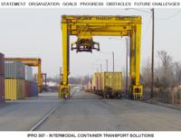 Intermodal Container System Solution (Semester Unknown) IPRO 307: IntermodalContainerSystemSolutionsForTheChicagoAreaIPRO307MidTermPresentationF09