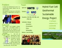 Chicago Sister Cities China: Fuel Cell/Geothermal Sustainable Energy USX Site (Semester Unknown) IPRO 345: Fuel CellGeothermal Sustainable Energy at USX Site IPRO 345 Brochure1 Sp08