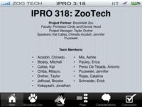 Zoo Tech (Semester Unknown) IPRO 318: ZooTechIPRO318FinalPresentationF10