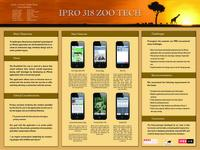 Zoo Tech (Semester Unknown) IPRO 318: ZooTechIPRO318Poster2F10
