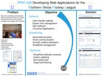 Developing Web Applications for the Northern Illinois Hockey League (sequence unknown), IPRO 308 - Deliverables: IPRO 308 Poster F09