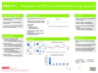 Integration of Plug-in Hybrid Electric Vehicles and Renewable Energy Systems (Semester Unknown) IPRO 311: IntegrationOfPlug-InHybridElectricVehiclesAndRenewableEnergySystemIPRO311PosterF10