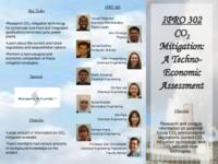 CO2 Mitigation:  A Techno-Economic Assessment (semester?), IPRO 302: CO2 Mitigation IPRO 302 Brochure F07