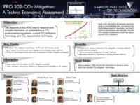 CO2 Mitigation:  A Techno-Economic Assessment (semester?), IPRO 302: CO2 Mitigation IPRO 302 Poster F07