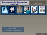 Innovations in Spirometry (Spring 2002) ENPRO 357