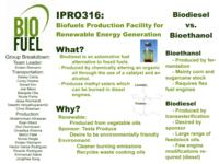 IIT Intranet Mediator for USHMM (Semester Unknown) IPRO 316: DesignOfBiofuelsIPRO316Poster1Sp09