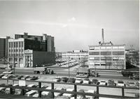 Armour Research Foundation Administrative Offices from the CTA platform, Chicago, Ill., 1963