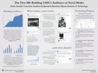 The First 100: Building UASC's Audience on Social Media Poster