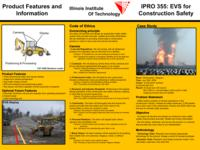 Augmented Reality Technologies (Semester Unknown) IPRO 355: EVS for Construction Safety IPRO 355 Poster1 Sp08