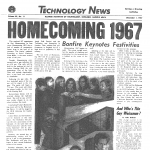 Technology News, Homecoming 1967